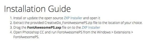 Font Awesome Installation Guide