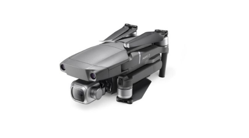 DJI mavic folded up