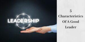 leadership logo in man's hand