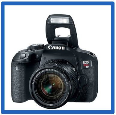 The Best DSLR Cameras For Beginners -EOS Rebel T7i