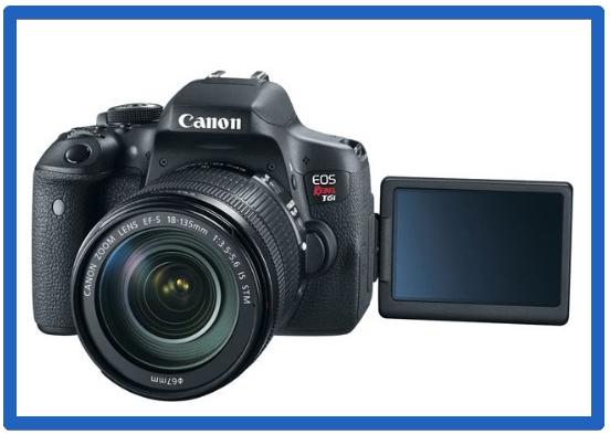 The Best DSLR Cameras For Beginners -EOS Rebel T6i EF-S