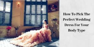 Elegant Wedding Dress - Bride In Peach Dress