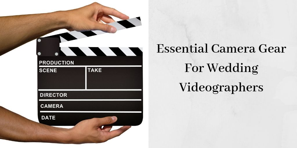 The Best Camera Gear - Black and White Clapperboard