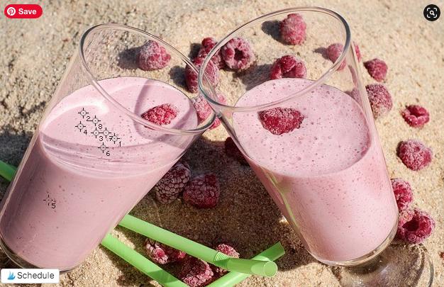Eyedropper Tool in Photoshop - Two Raspberry Milkshakes