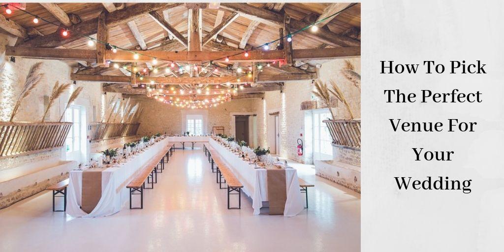 The Perfect Wedding Venue - Beautiful Reception Hall