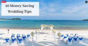 Money Saving Wedding Tips - Reception On Beach