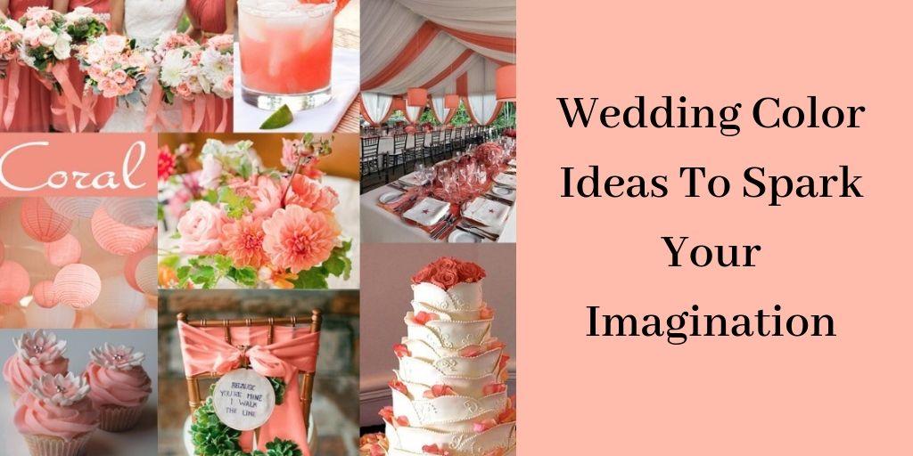 Wedding Color Ideas - Peach Wedding Decorations